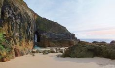 The Song of the Sea arch at Nanjizal, Cornwall