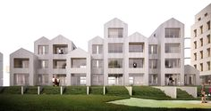 45 logements intermédiaires et collectifs - Dijon : Nicolas Reymond Architecture & Urbanisme