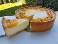 Schmandkuchen mit Mandarinen - Rezept von Punds Backparadies Holiday Appetizers, Appetizer Recipes, Easy Entertaining, Cooking Chef, Cheese Ball, Bacon Wrapped, Camembert Cheese, Cheesecake, Food And Drink