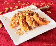 Recipe Redux: Sweet Potato Apple Patties with Almond Butter and Cinnamon   Jill Conyers