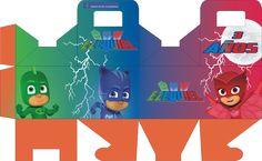 PJ Mask: Héroes en pijamas - Página web de diseñokitdecumpleaños