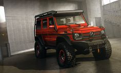 This Mercedes-Benz G-Class looks ready to take its owner to the end of the world and back.
