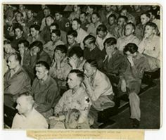 ... forced to watch footage of what happened in the concentration camps