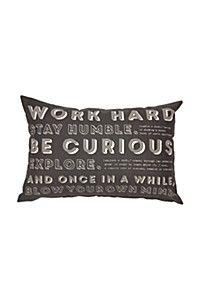 URBAN SCRIPT 40X60CM SCATTER CUSHION Scatter Cushions, Script, Bed Pillows, Pillow Cases, Urban, Pillows, Script Typeface, Throw Pillows, Decor Pillows