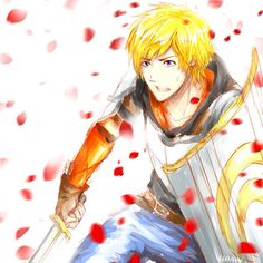 RWBY Jaune Arc Forever Fall