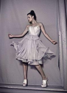 pas de deux bridal's Espagne is a dancer's dream come true!