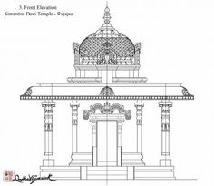 Content tagged with temple. Indian Temple Architecture, India Architecture, Architecture Drawings, Architecture Details, Temple Design For Home, Home Temple, Temple Drawing, Mandir Design, Pillar Design