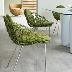 Kenneth Cobonpue Noodle Armchair - modern dining chairs