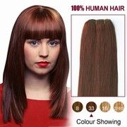 Rich Copper Red Straight 10-30 inch Virgin Brazilian Remy Hair