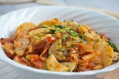 Sommerliche Kartoffel-Zucchini Salat Rezept