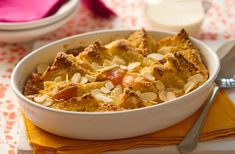 Try a different summery sharpness to the childhood favourite dessert with the apricot bread and butter pudding. This hearty dessert is the king of nursery puddings and will bring back comforting stodgy memories. Go back in time with this recipe and find out to create this recipe on Tesco Real Food site today.