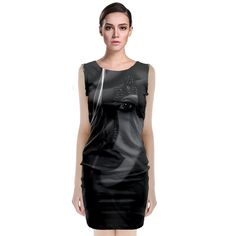 Digital art A classy dress style for all the ladies who like to keep it simple and elegant. With the option to design both the front and back as well, treat the dress like a canvas and paint your own designs onto it.     Made from 90% Polyester, 10% Spandex Soft, stretchy, lightweight and quick drying fabric Regular fit Fully customizable Hand wash in cold water only Designs imprinted using an advance heat sublimation technique    Attention: Due to bleeding and fabric stretch, the previewed…