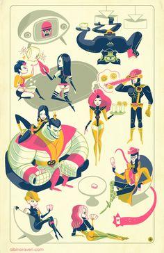 X-Men by Glen Brogan