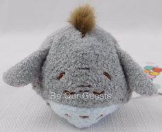 Disney Store Eeyore Winnie The Pooh Mini Tsum Tsum Plush New