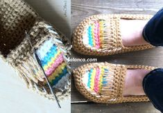 Cevizli Dilber Dudağı Tarifi | Falanca Kadın Portalı Crochet Shoes, Comfortable Shoes, Friendship Bracelets, Espadrilles, Sandals, Crafts, Jewelry, Design, Women