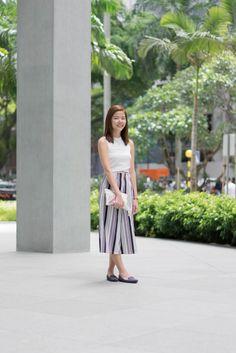 H m white dress singapore bank