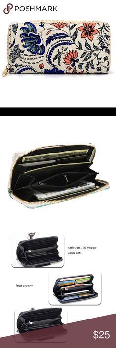 Beautiful Floral Wallet Adorable floral wallet brand new Kat's Boutique Bags Wallets