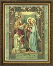Catholic Memorial of Marriage certificate - marriage of Joseph and Mary. DANIEL AND I WANT THIS!!!!!!