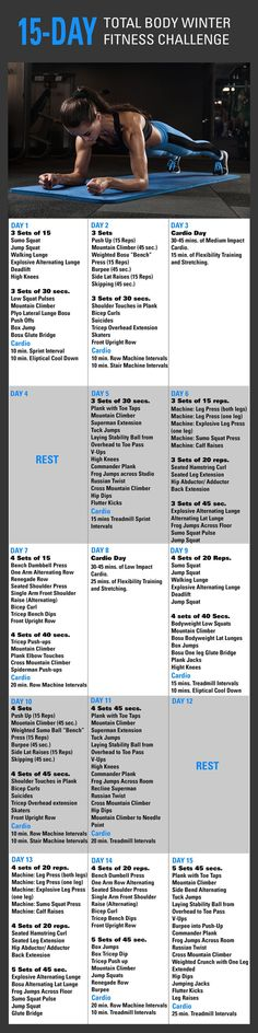 14-Day, Total Body Winter Fitness Challenge! | Fitness Republic