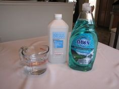 Homemade Disinfecting Wipes  1 cup of water 1/4 cup of rubbing alcohol 2 Tbsp. Dawn dish soap (only use Dawn)