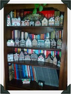 """If you're looking for ways to display your Cat's Meows...look no farther! The following home photos were just a few posted by proud Cat's Meow owners in one of our """"Share Your Photo"""" Facebook contests.  1) Mandie found a wooden quilt shelf that fits perfectly over her windows. Home Photo: Mandie Michniewicz _______________________________________________________________ 2)Bernice made her boardwalk shelves by cutting and gluing craft sticks to 1x1 pieces of pine. Home Photo: Bernice…"""