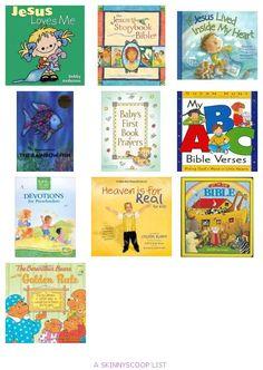 Children's Christian Books for Preschoolers