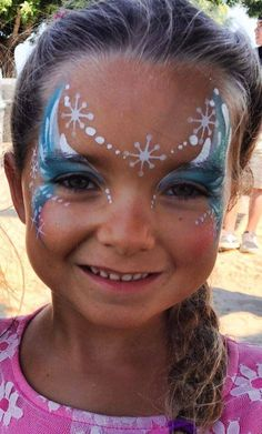 Frozen face painting - Frozen face painting - - Hobbies paining body for kids and adult Princess Face Painting, Girl Face Painting, Face Painting Designs, Painting For Kids, Paint Designs, Body Painting, The Face, Face And Body, Frozen Face Paint