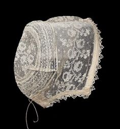 Infant's cap  Flemish (Mechlin), probably early 19th century  Mechlin
