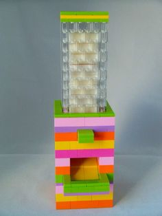 Lego Hi-Chew Dispenser #candy #building_blocks #instructions #machine