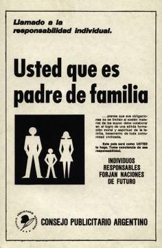 """""""Llamado a la responsabilidad individual 6""""-1970"""