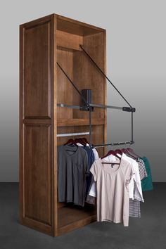 #ElectricalWardrobeLift #ExtendedVersion #50 Inch #Closet #Wardrobe #Clothes