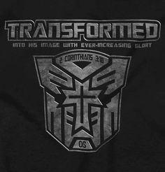 Transformed Christian T-Shirt | Christian Strong