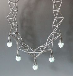Necklace with Dangles by Emilie Pritchard