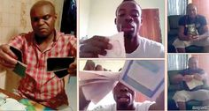Pro-Biafra activists tear their Nigerian passports (photos) - http://www.thelivefeeds.com/pro-biafra-activists-tear-their-nigerian-passports-photos/