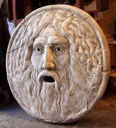 The Mouth of Truth. La Bocca della Verità. Italian sculpture 1m. | Antiques | Gumtree Australia Marrickville Area - Marrickville | 1080765105