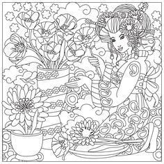 Free Japanese Culture Coloring Pages