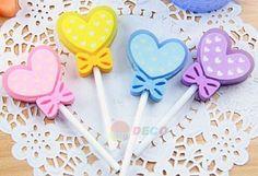 Heart Lollipop Eraser