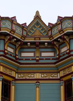 Victorian building detail in Ferndale CA. - photo by B. Albrecht