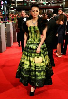 Zhang Ziyi in Christian Dior Couture - Berlin Film Festival 2013