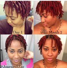 Short Locs Hairstyles, Short Dreads, Cute Natural Hairstyles, Protective Hairstyles For Natural Hair, Black Girls Hairstyles, Dreadlock Rasta, Dreadlock Styles, Dreadlocks, Natural Hair Care Tips