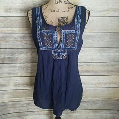 Breakthrough Navy Peasant Top · Joonam Boutique · Online Store Powered by Storenvy