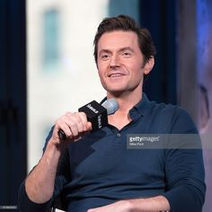 Richard Armitage attends the Build Series to discuss 'Berlin Station' at AOL HQ on October 10, 2016 in New York City.  (Photo by Mike Pont/WireImage)