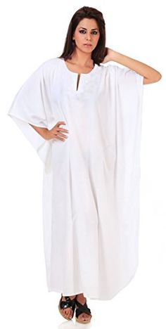 RAYON Swimweat White Plain Maternity Nightgown Long Caftan Beach Cover up Dress Valentines Day Gifts 2017 ** To view further for this item, visit the image link. Maternity Swimwear, Maternity Wear, Beachwear For Women, Green Turquoise, Purple Yellow, Night Gown, Evening Dresses, Cold Shoulder Dress, White Dress