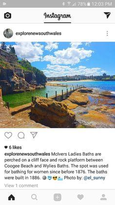 Mclvers ladies baths.. Sydney.. near coogee