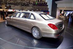 Альбомы›Женева 2015›2015 Mercedes-Maybach S600 Pullman