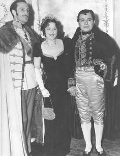 This is quite a party. Basil Rathbone is pictured here (far left) with Mr. and Mrs. Edward G. Robinson (dressed as Napoleon and Josephine)