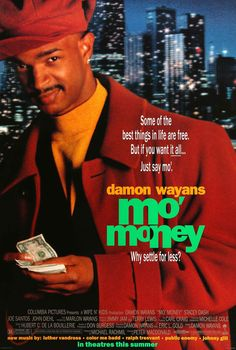 Mo' Money- Starring: Damon Wayans and Stacey Dash (July Streaming Hd, Streaming Movies, Hd Movies, Movies Online, Movie Tv, Dope Movie, Series Movies, Tv Series, Stacey Dash