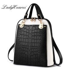 Fashion Simple Style Women Backpacks High Quality Leather School Bags Satchel Brand Female Backpack 2017 Rucksack Youth ** Read more details by clicking on the image. Backpack 2017, Backpack For Teens, Travel Backpack, Purses And Handbags, Leather Handbags, Fashion Bags, Fashion Backpack, Style Fashion, Mode Simple