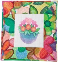 Free Quilt Pattern: Valentine's Bouquet by Gigi Khalsa from Quilters Newsletter February March 2015
