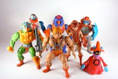 It's so cool to see this collection of vintage He-Man toys. But its missing the best figure, Ram Man (best be ause that is the one I had). He-Man and the Masters of the Universe | The 14 Ultimate Toy Lines Of The 80s For Boys